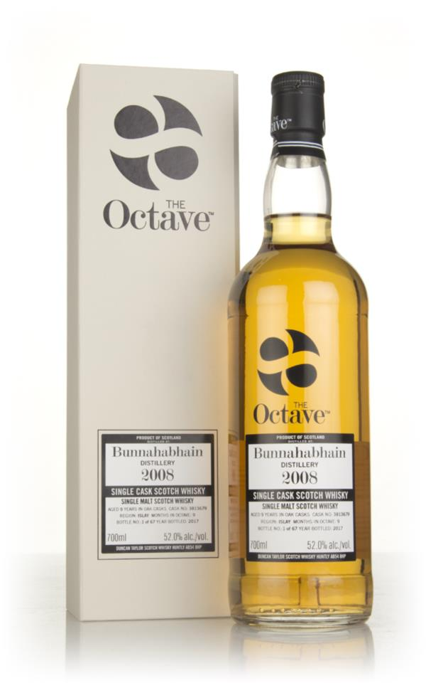 Bunnahabhain 9 Year Old 2008 (cask 3813679) - The Octave (Duncan Taylo Single Malt Whisky