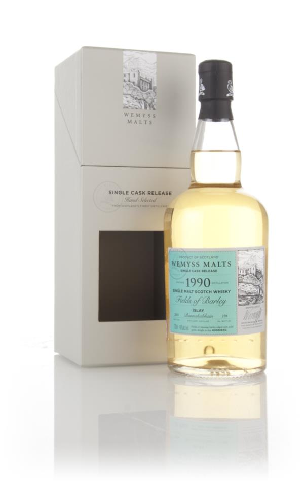 Fields of Barley 1990 (bottled 2015) - Wemyss Malts (Bunnahabhain) Single Malt Whisky