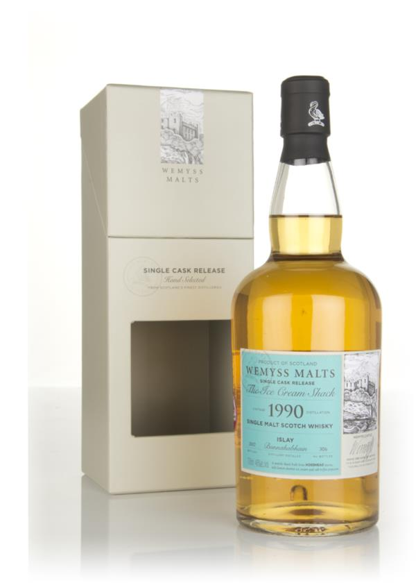 The Ice Cream Shack 1990 (bottled 2017) - Wemyss Malts (Bunnahabhain) Single Malt Whisky