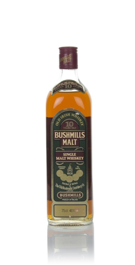 Bushmills 10 Year Old - 1970s Single Malt Whiskey