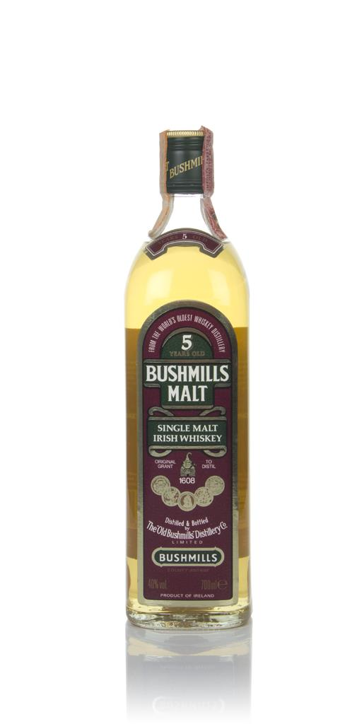 Bushmills 5 Year Old - 1990s Single Malt Whiskey
