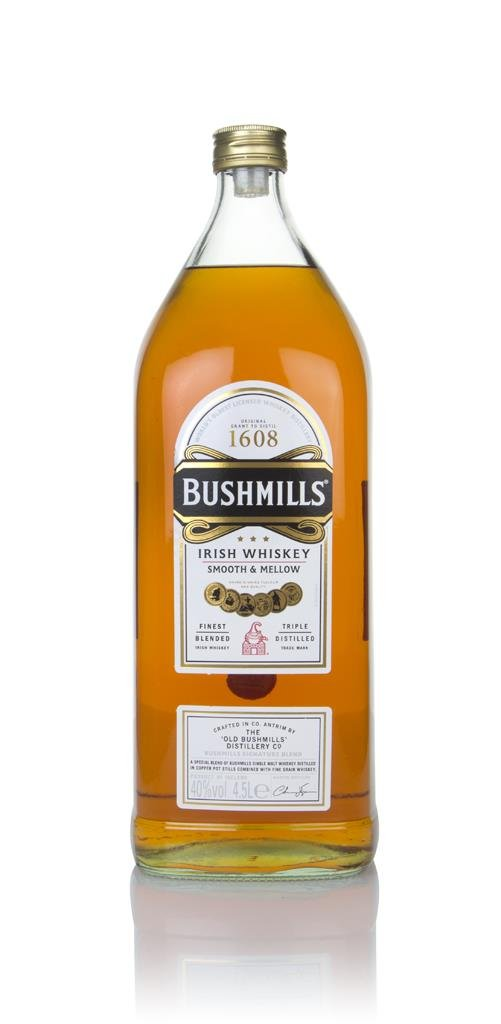 Bushmills Whiskey 4.5L Blended Whiskey