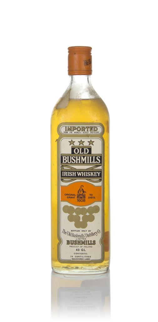 Bushmills White Label - 1980s Blended Whiskey