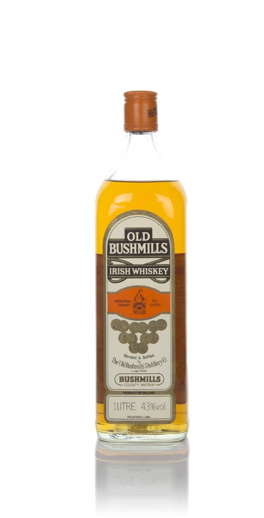 Bushmills White Label (1L) - 1970s Blended Whiskey