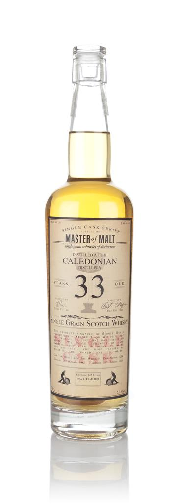 Caledonian 33 Year Old 1982 - Single Cask (Master of Malt) 3cl Sample Grain Whisky