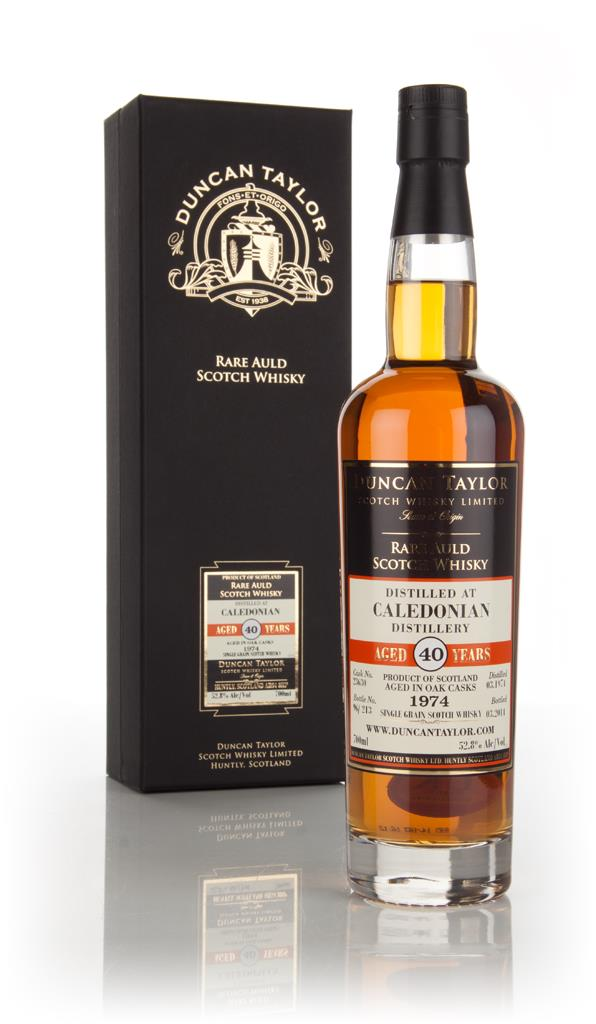 Caledonian 40 Year Old 1974 (cask 23630) - Rare Auld (Duncan Taylor) Grain Whisky