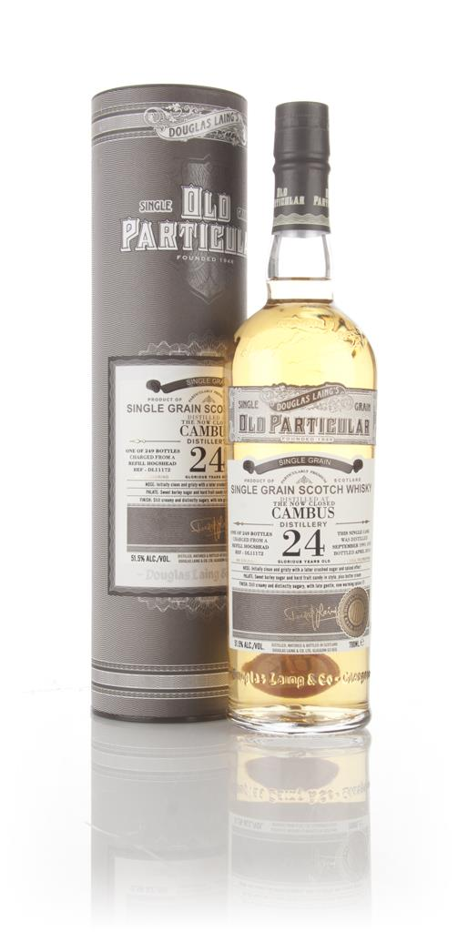 Cambus 24 Year Old 1991 (cask 11172) - Old Particular (Douglas Laing) Grain Whisky
