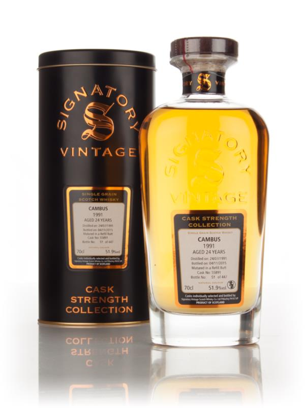 Cambus 24 Year Old 1991 (cask 55891) - Cask Strength Collection (Signa Grain Whisky