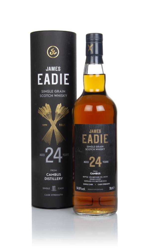 Cambus 24 Year Old 1993 (cask 48093) - James Eadie Grain Whisky