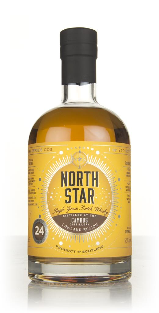 Cambus 24 Year Old 1993 - North Star Spirits Grain Whisky