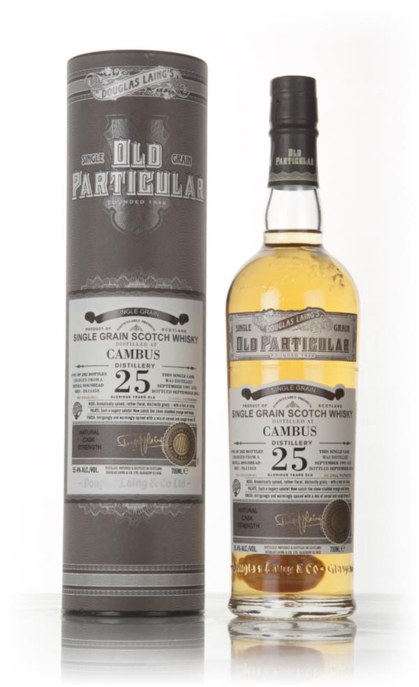 Cambus 25 Year Old 1991 (cask 11353) - Old Particular (Douglas Laing) Grain Whisky