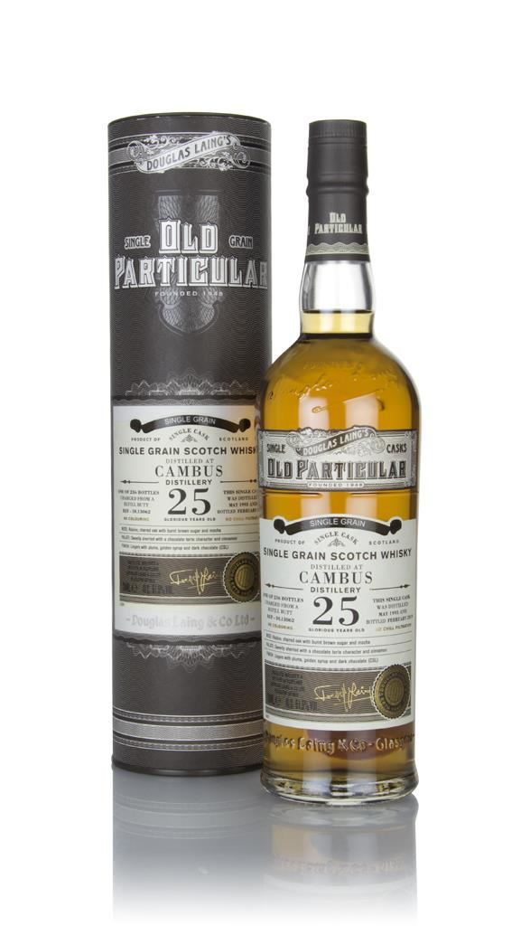 Cambus 25 Year Old 1993 (cask 13062) - Old Particular (Douglas Laing) Grain Whisky