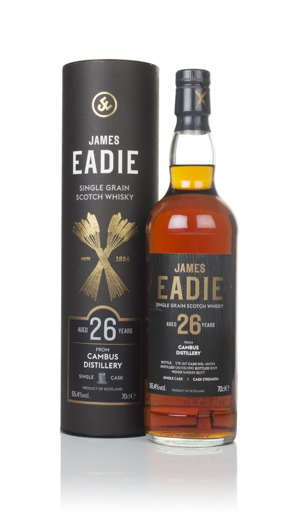 Cambus 26 Year Old 1993 (cask 48094) - James Eadie Grain Whisky