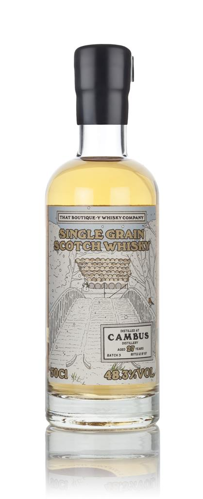 Cambus 27 Year Old - Batch 3 (That Boutique-y Whisky Company) 3cl Samp Grain Whisky 3cl Sample
