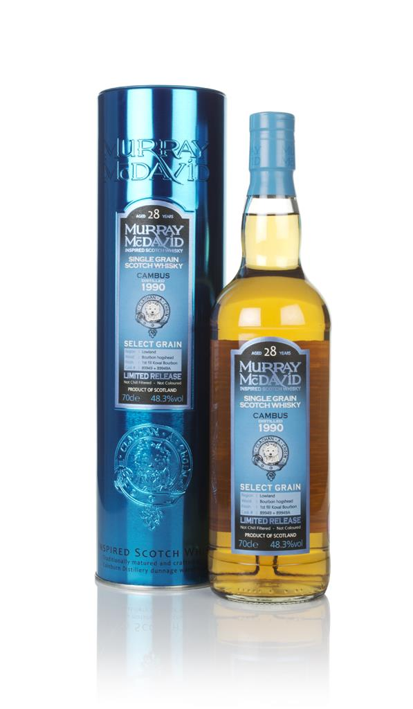 Cambus 28 Year Old 1990 (cask 89949 & 89949A) - Select Grain (Murray M Grain Whisky