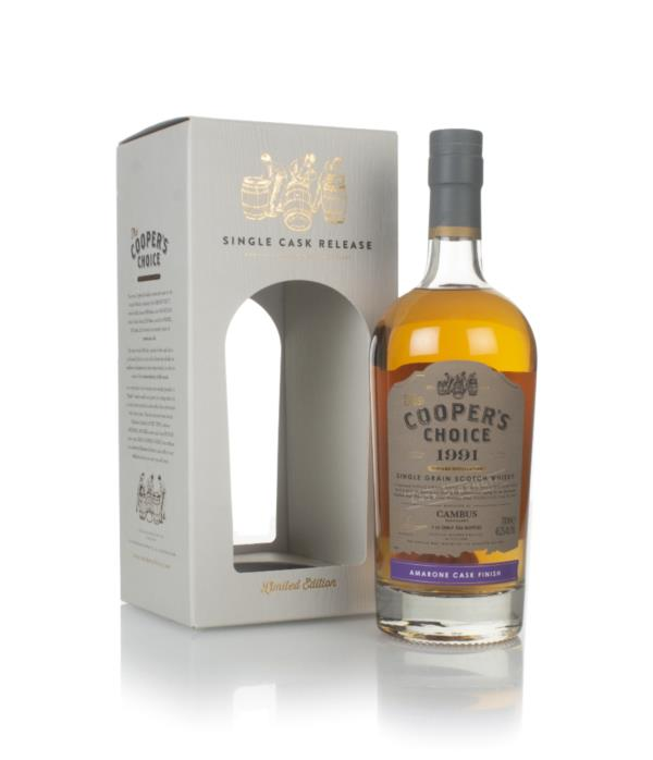 Cambus 29 Year Old 1991 (cask 9067) - The Cooper's Choice (The Vintage Grain Whisky