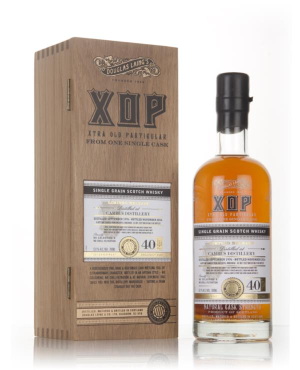 Cambus 40 Year Old 1976 (cask 11527) - Xtra Old Particular (Douglas La Grain Whisky
