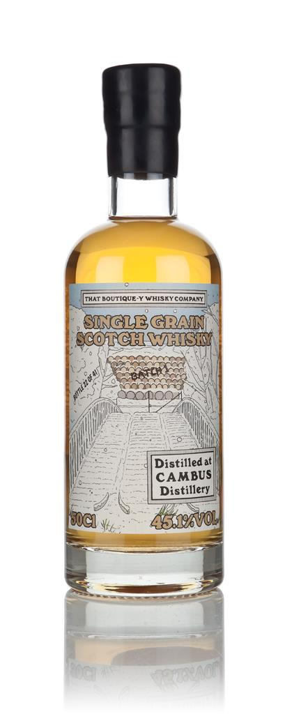 Cambus - Batch 1 (That Boutique-y Whisky Company) 3cl Sample Grain Whisky