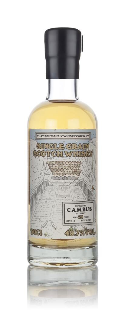 Cambus 24 Year Old (That Boutique-y Whisky Company) 3cl Sample Grain Whisky