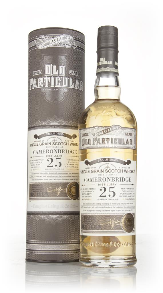 Cameronbridge 25 Year Old 1991 (cask 11644) - Old Particular (Douglas Grain Whisky