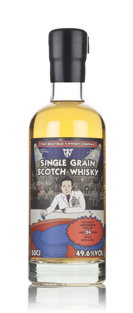 Cameronbridge 24 Year Old - Batch 1 (That Boutique-y Whisky Company) Grain Whisky
