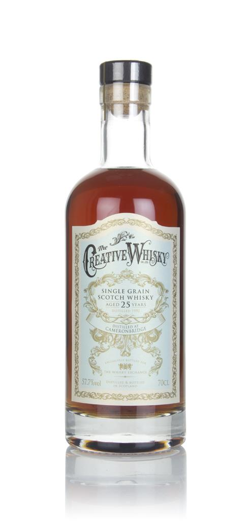 Cameronbridge 25 Year Old 1992 (Creative Whisky) Grain Whisky