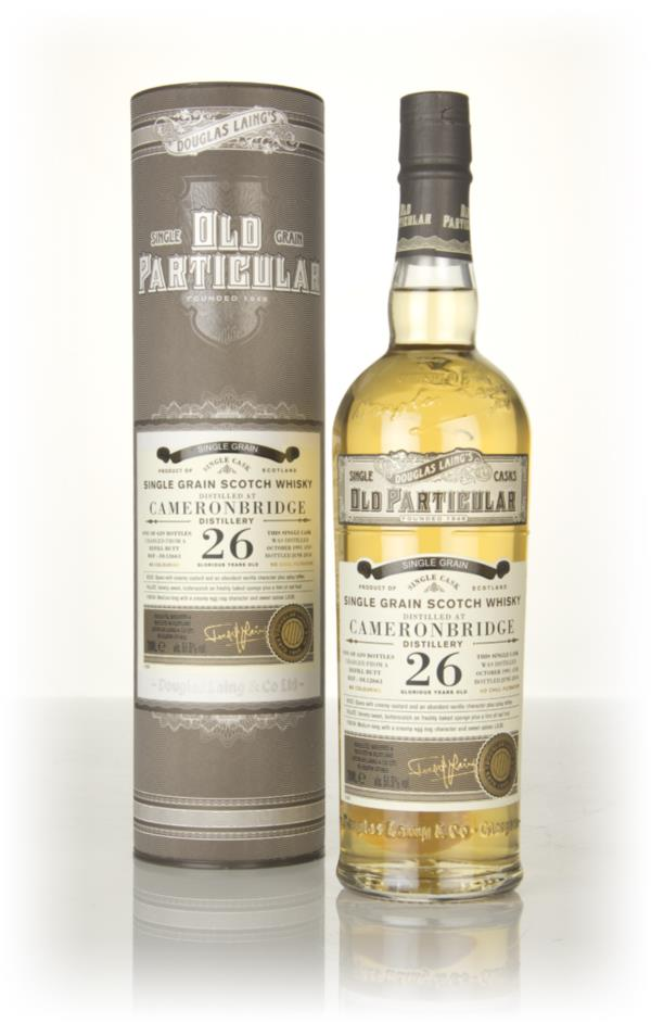Cameronbridge 26 Year Old 1991 (cask 12661) - Old Particular (Douglas Grain Whisky