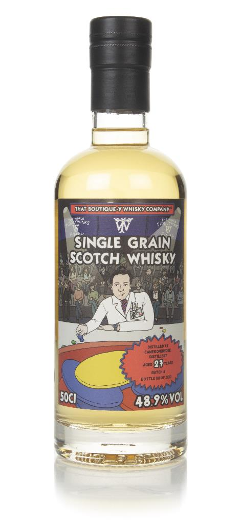 Cameronbridge 27 Year Old (That Boutique-y Whisky Company) Grain Whisky