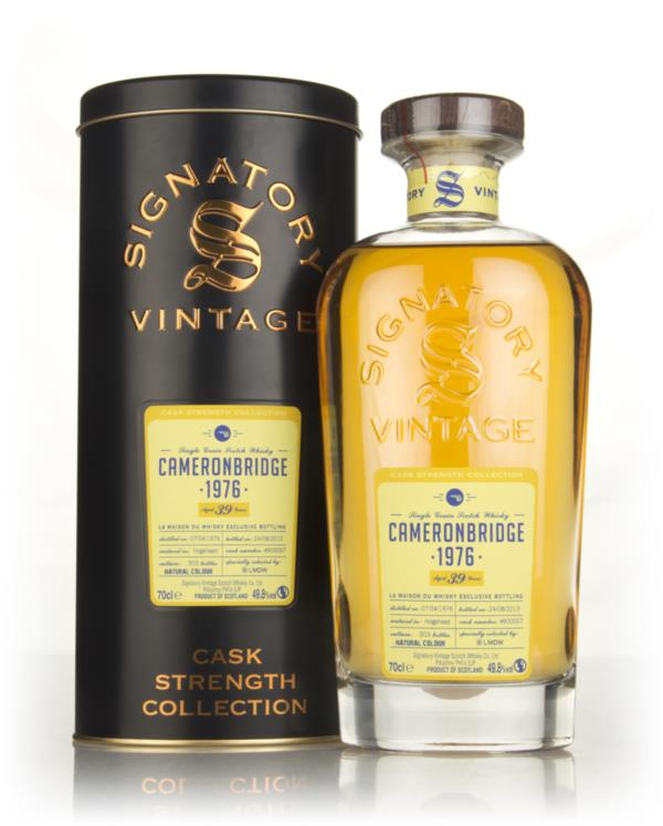 Cameronbridge 39 Year Old 1976 (cask 900007) - Cask Strength Collectio Grain Whisky 3cl Sample