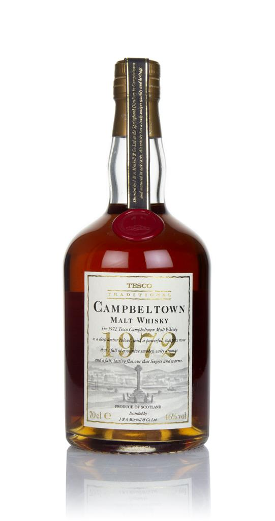 Campbeltown 1972 - Tesco Traditional - 1990s Single Malt Whisky