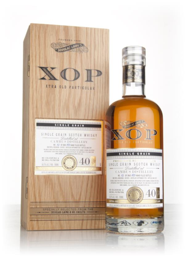Cambus 40 Year Old 1976 (cask 11833) - Xtra Old Particular (Douglas La Grain Whisky