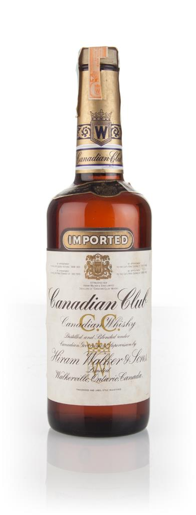 Canadian Club Whisky - 1970s Blended Whisky