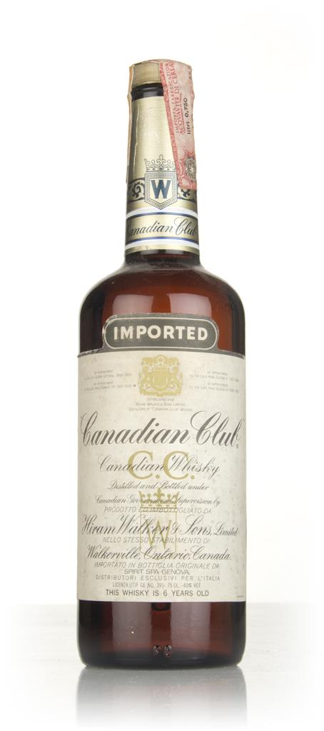Canadian Club 6 Year Old Whisky - 1979 Blended Whisky