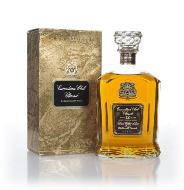 Canadian Club Classic 12 Year Old (Boxed) - 1970s Blended Whisky