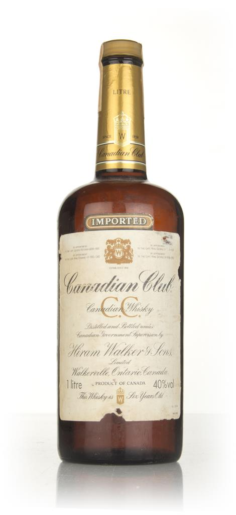 Canadian Club 6 Year Old Whisky (1L) - 1977 Blended Whisky