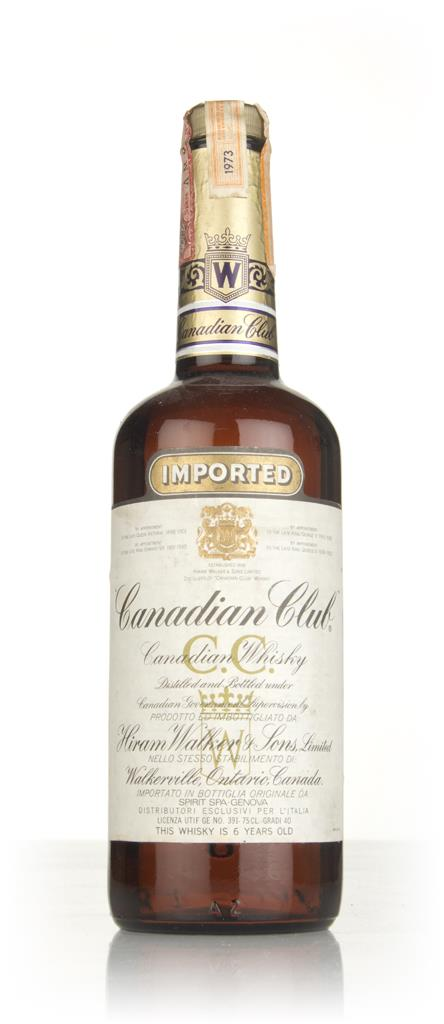 Canadian Club 6 Year Old Whisky (40%) - 1973 Blended Whisky