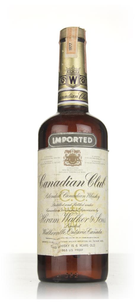 Canadian Club 6 Year Old Whisky (43.4%) - 1977 Blended Whisky