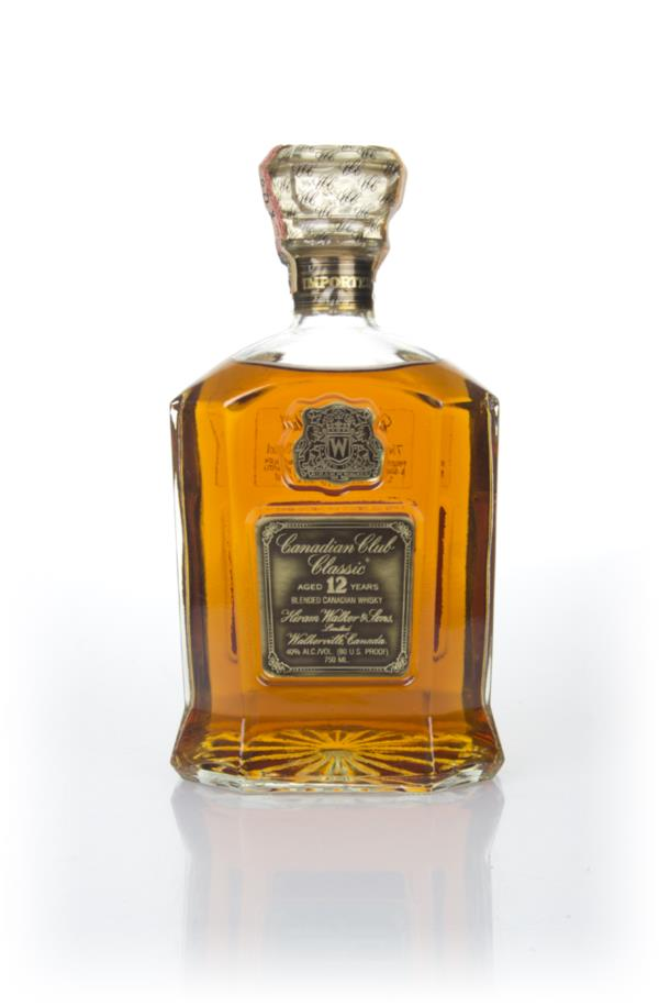 Canadian Club Classic 12 Year Old - 1970s Blended Whisky