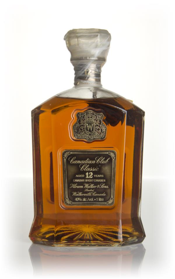Canadian Club Classic 12 Year Old - 1977 Blended Whisky
