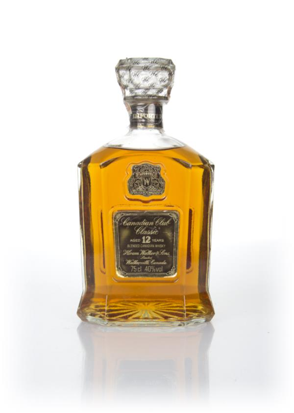 Canadian Club Classic 12 Year Old - 1979 Blended Whisky