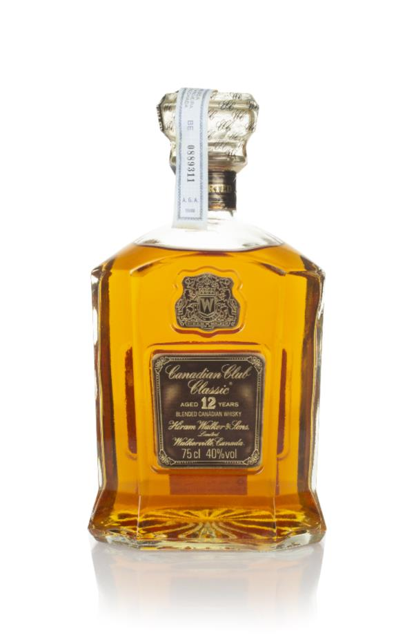 Canadian Club Classic 12 Year Old (Boxed) - 1978 Blended Whisky