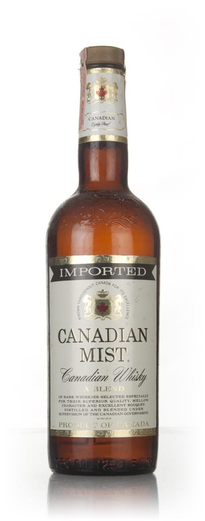 Canadian Mist 3 Year Old- 1970s Blended Whisky