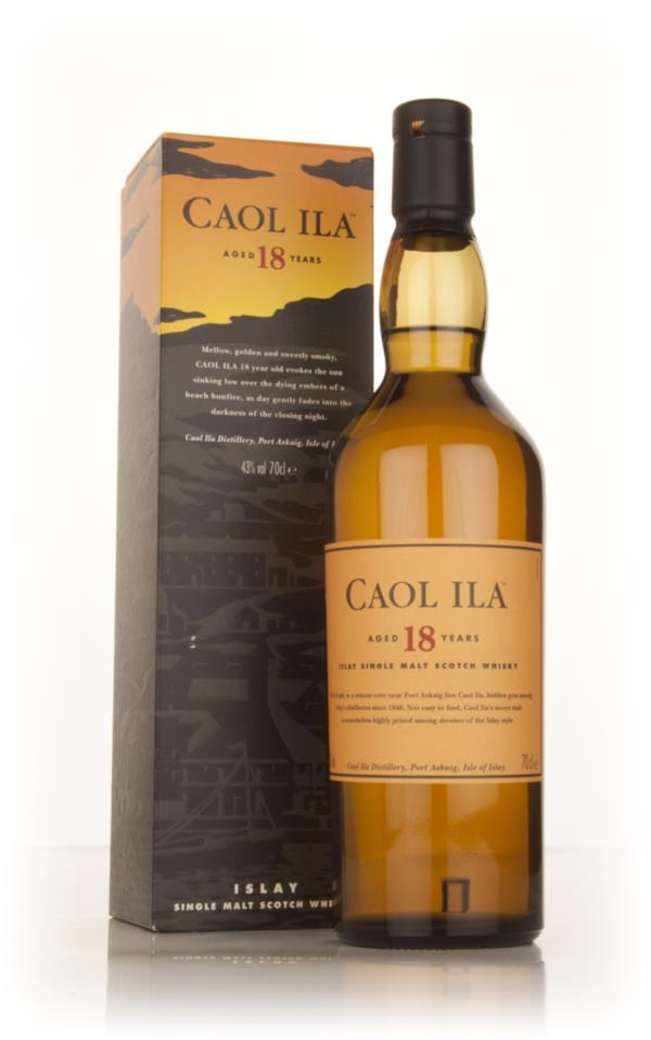 Caol Ila 18 Year Old Single Malt Whisky