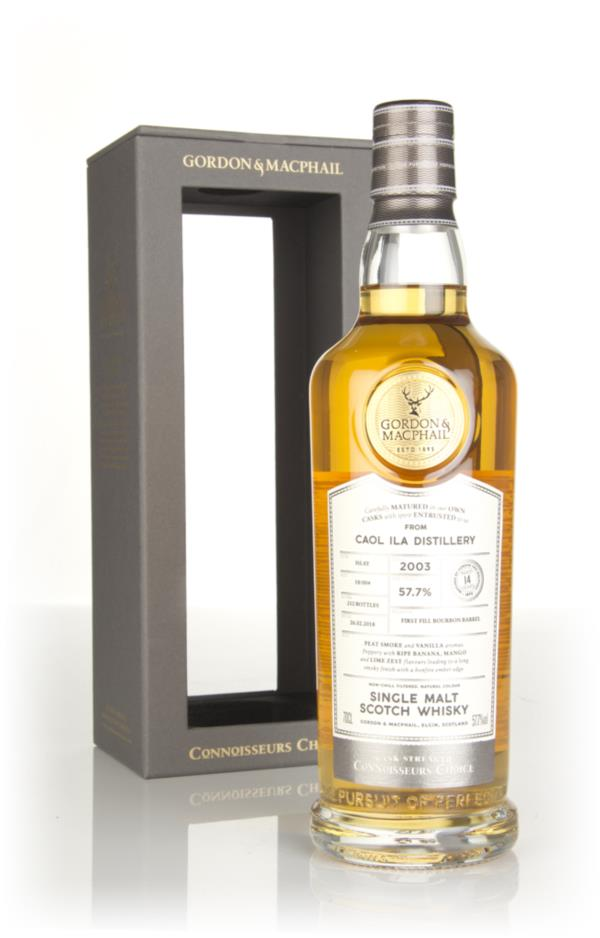 Caol Ila 14 Year Old 2003 - Connoisseurs Choice (Gordon & MacPhail) Single Malt Whisky