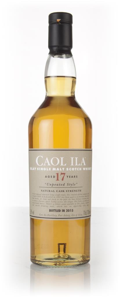 Caol Ila 17 Year Old 1997 Unpeated (Special Release 2015) Single Malt Whisky