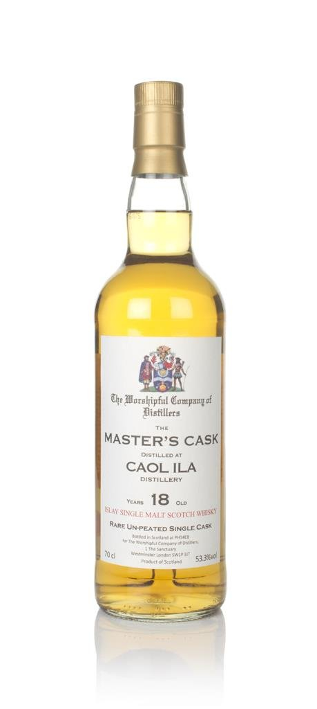 Caol Ila 18 Year Old 1997 (cask 449) - Master's Cask (The Worshipful C Single Malt Whisky