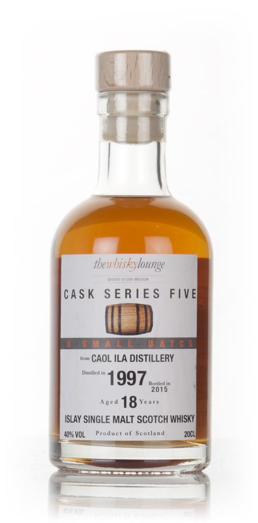 Caol Ila 18 Year Old 1997 - Cask Series Five (The Whisky Lounge) Single Malt Whisky