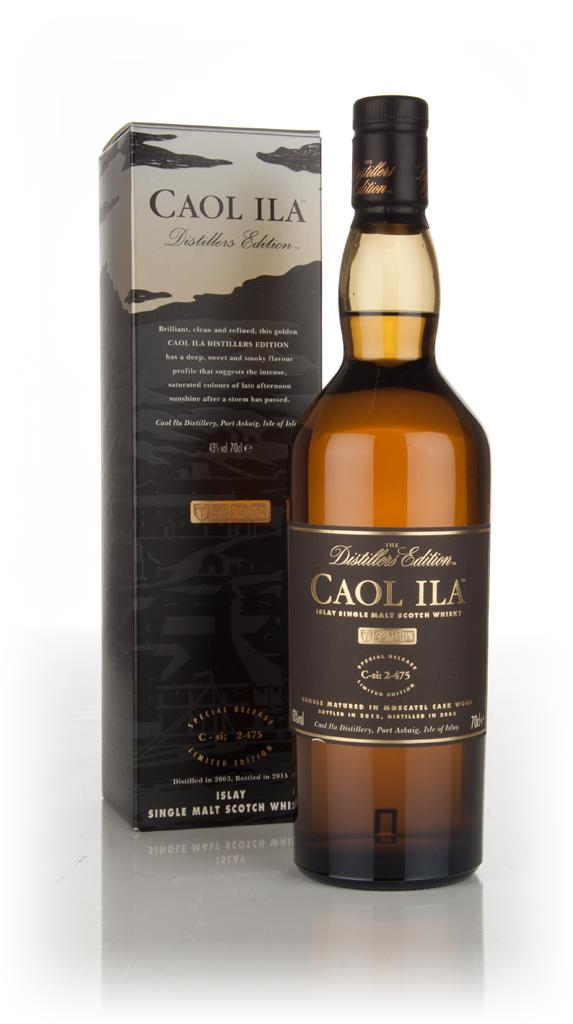 Caol Ila 2003 (bottled 2015) Moscatel Cask Finish - Distillers Edition Single Malt Whisky