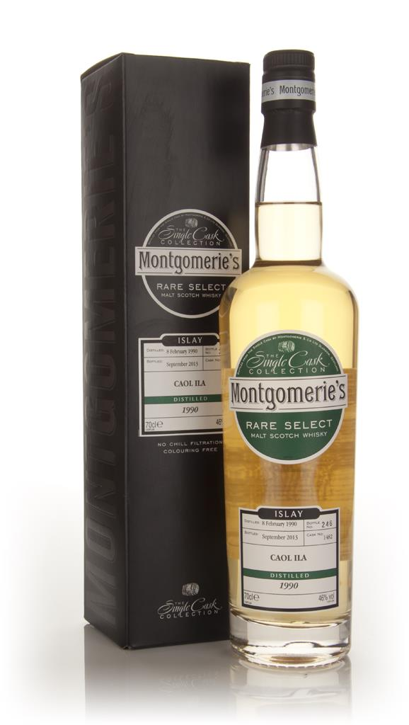 Caol Ila 23 Year Old 1990 (cask 1482) - Rare Select (Montgomerie's) 3c Single Malt Whisky 3cl Sample