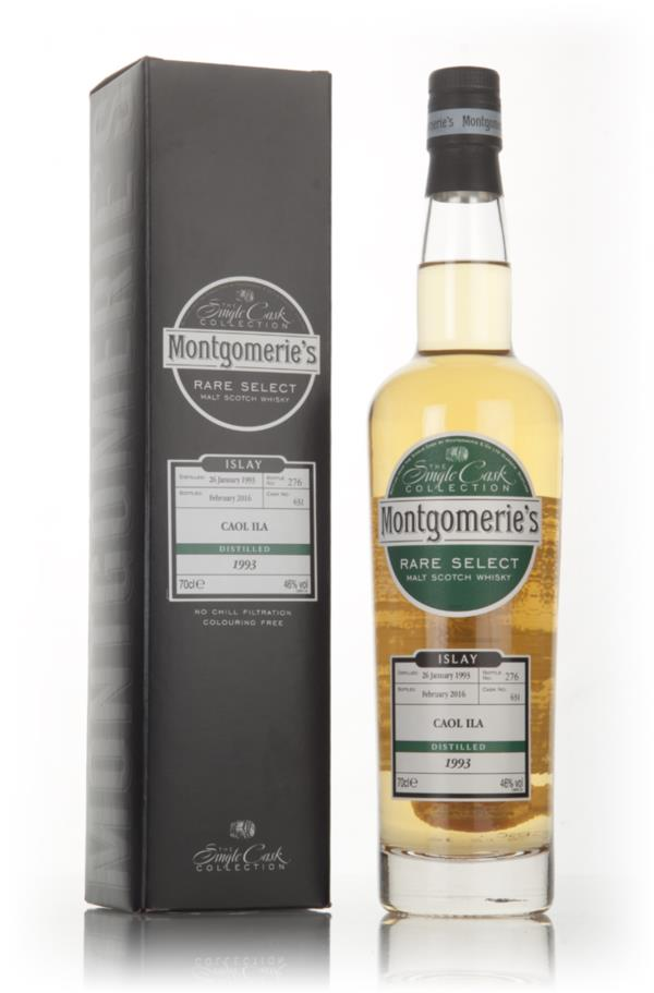 Caol Ila 23 Year Old 1993 (cask 631) -  Rare Select (Montgomerie's) Single Malt Whisky